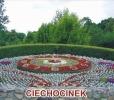 Kwietny zegar w Ciechocinku